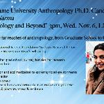 Anthropology and Beyond- Mallika Sarma